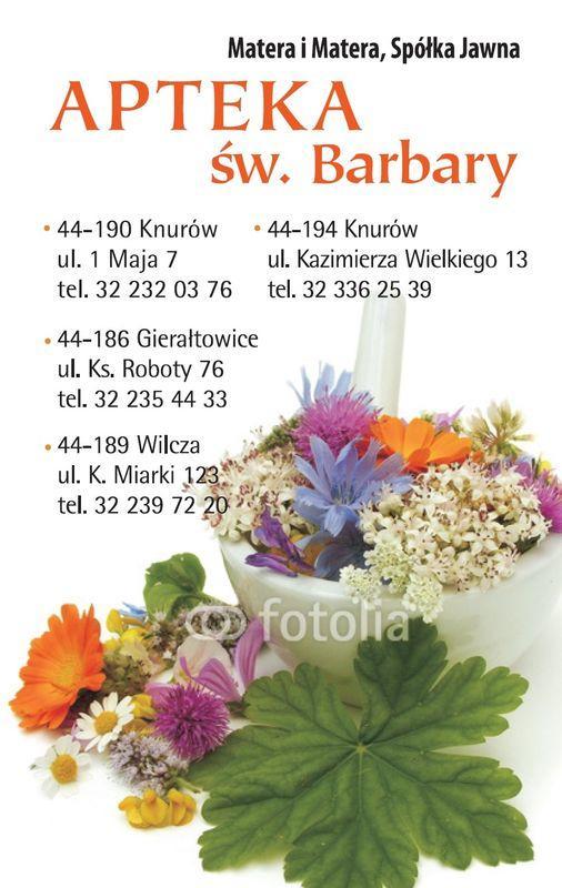 okładka kalendarza z danymi kontaktowymi apteki 4