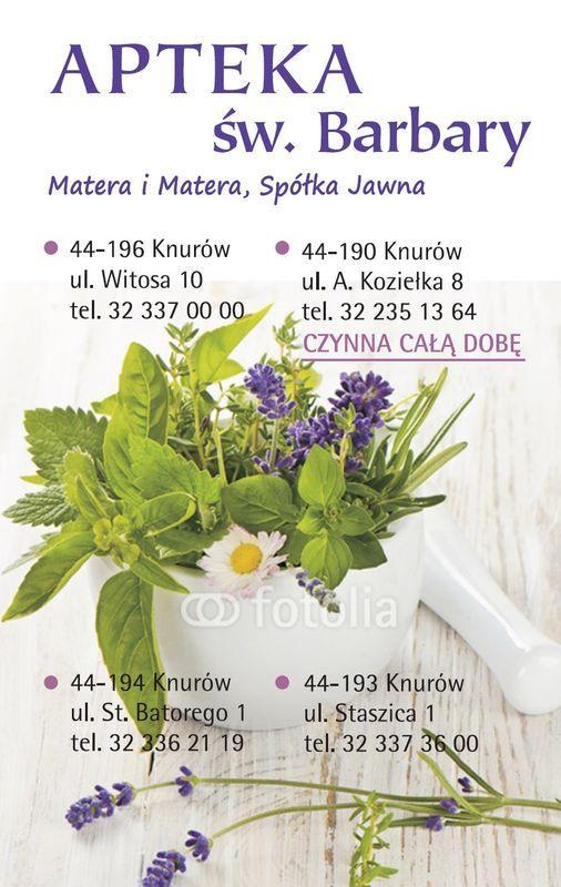 okładka kalendarza z danymi kontaktowymi apteki 5