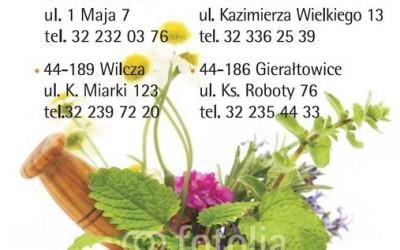 okładka kalendarza z danymi kontaktowymi apteki 12